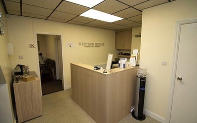 Western House Consulting Rooms Reception